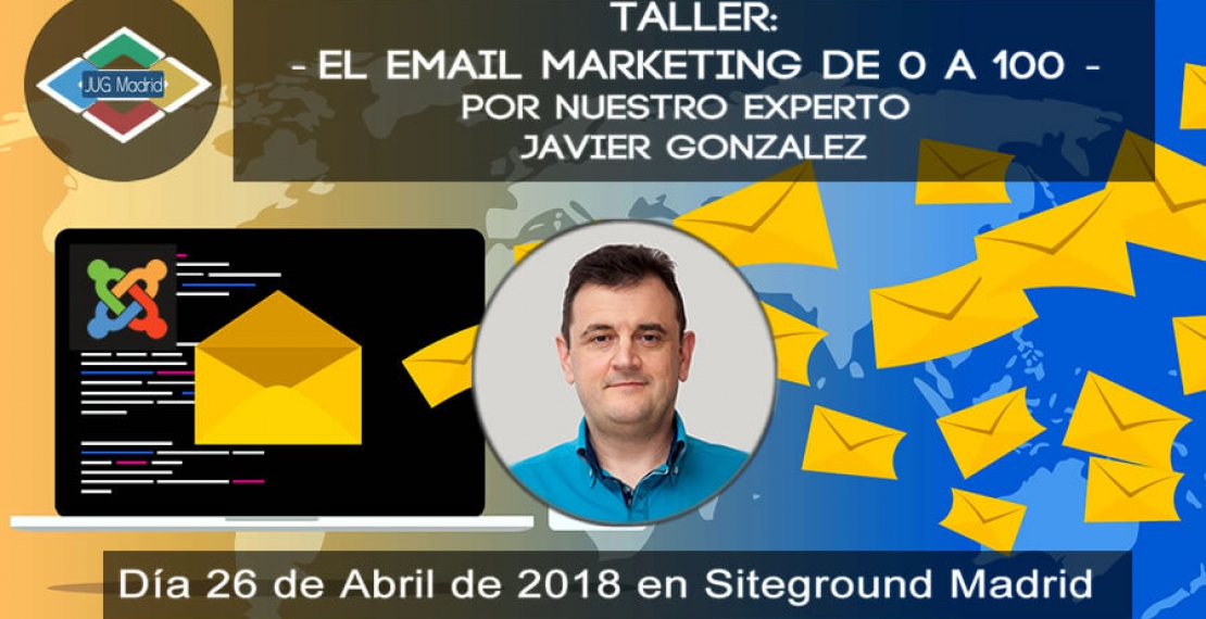 Taller de Email Marketing para Joomla